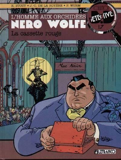 Couverture Nero Wolfe tome 2 - la cassette rouge