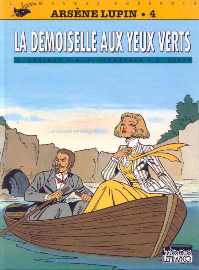 Couverture Arsène Lupin tome 4 - demoiselle aux yeux verts