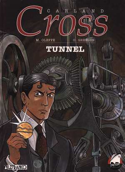 Couverture Carland Cross tome 3 - tunnel