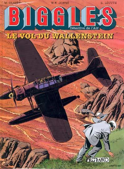 Couverture Biggles tome 5 - le vol du wallenstein