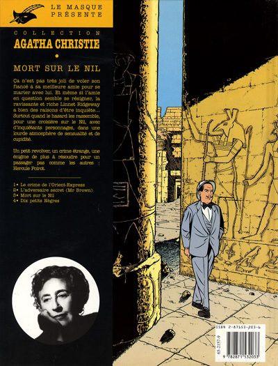 Dos Agatha Christie tome 3 - mort sur le nil