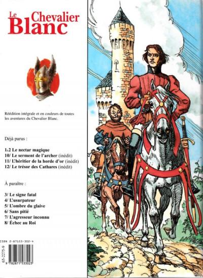 Dos Le chevalier blanc intégrale tome 1 - Chevalier blanc et Nectar magique