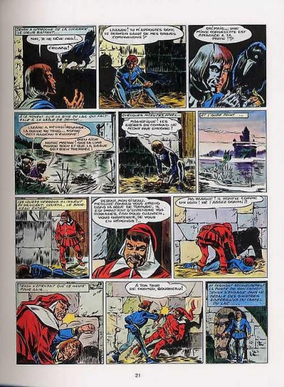 Page 1 Le chevalier blanc intégrale tome 1 - Chevalier blanc et Nectar magique