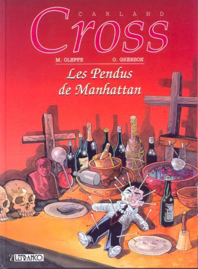 Couverture Carland Cross tome 7 - les pendus de manhattan