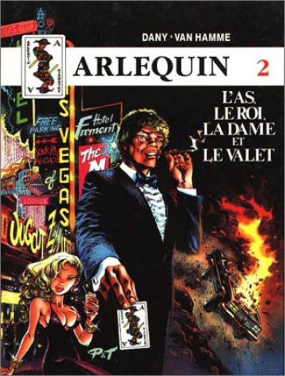 Couverture Arlequin tome 2