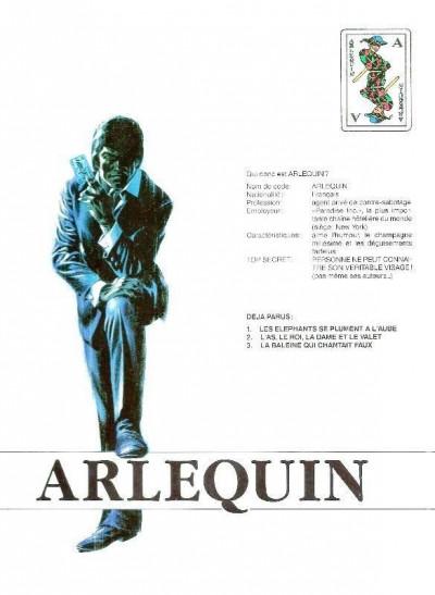 Dos Arlequin tome 2