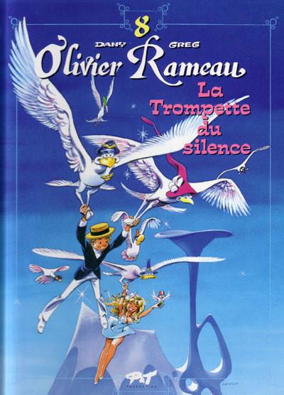 Couverture olivier rameau tome 8 - la trompette du silence
