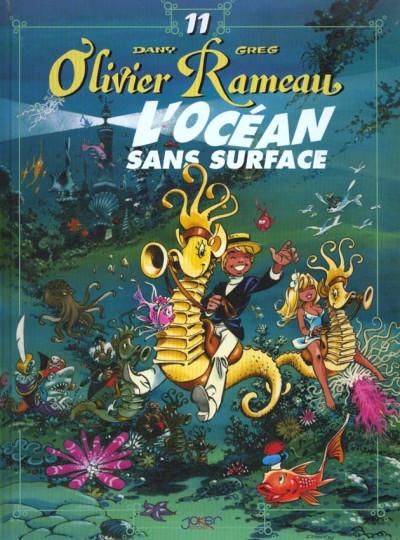 Couverture olivier rameau tome 11 - l'océan sans surface