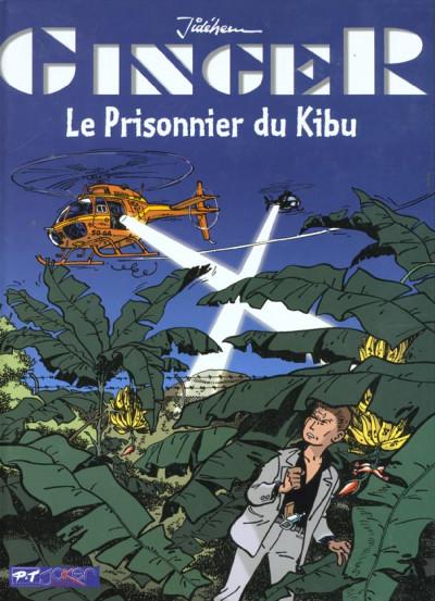 Couverture Ginger tome 4 - Le prisonnier du kibu