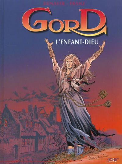 Couverture Gord tome 3 - l'enfant dieu