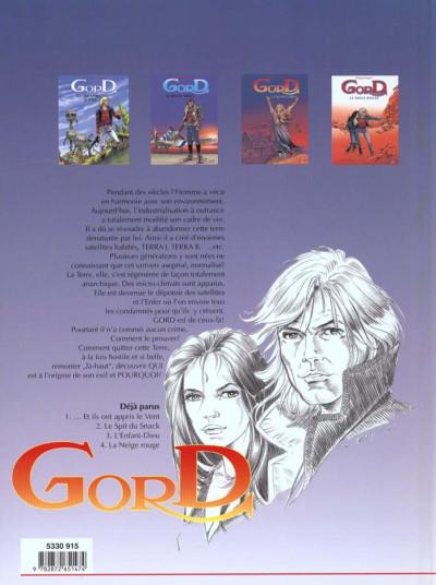 Dos Gord tome 3 - l'enfant dieu