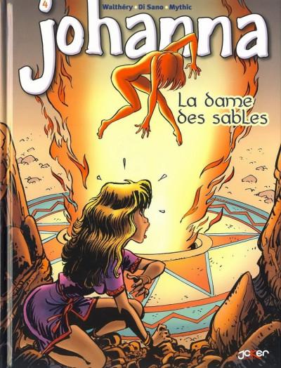 Couverture Johanna tome 4 - la dame des sables