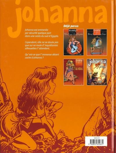 Dos Johanna tome 4 - la dame des sables
