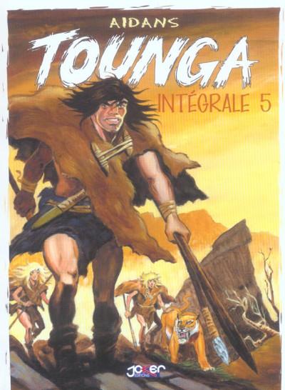 Couverture tounga tome 5 - intégrale 5