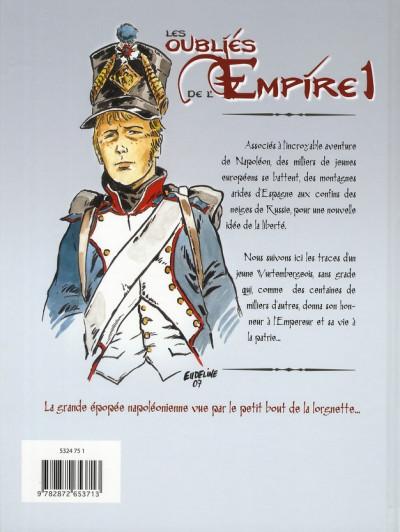Dos Les oubliés de l'empire tome 1 - Poussière de gloire