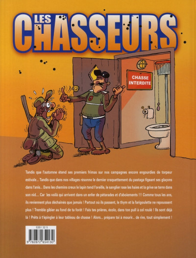 Dos Les chasseurs tome 1