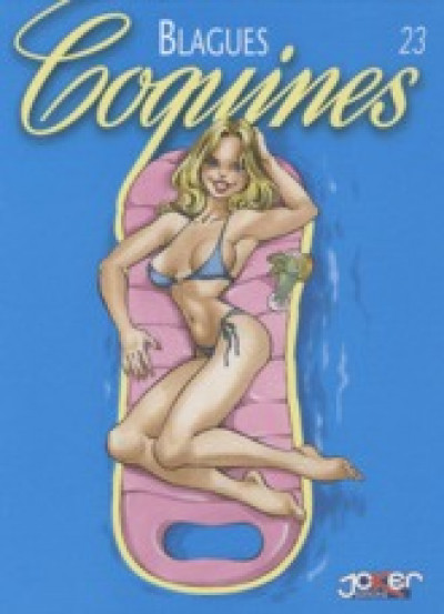 Couverture blagues coquines tome 23