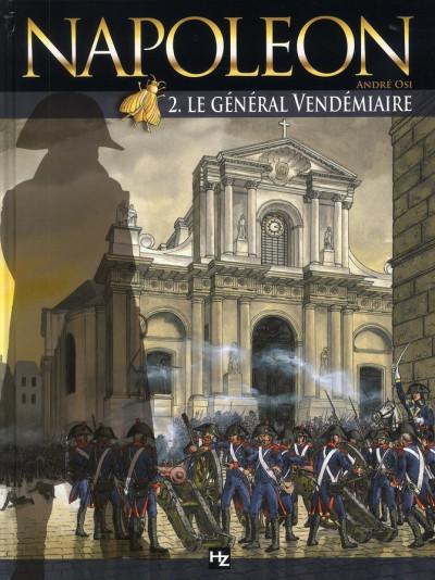 Couverture napoléon tome 2
