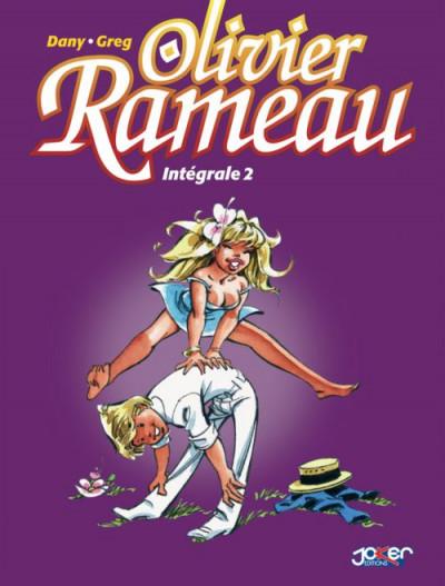 Couverture Olivier Rameau - Intégrale tome 2 (tome 4 à tome 6)