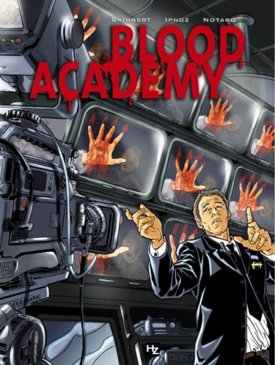Couverture blood academy tome 1