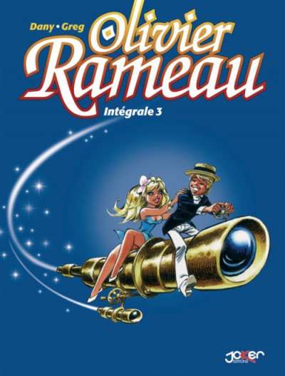 Couverture Olivier Rameau - Intégrale tome 3 (tome 7 à tome 9)