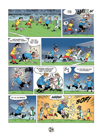 Page 0 Les Foot Furieux tome 15