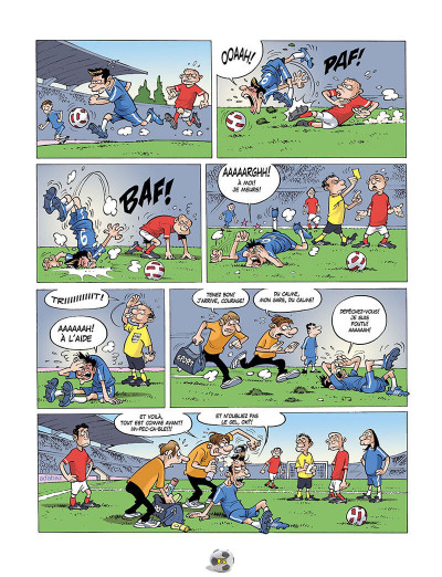 Page 9 Les Foot Furieux tome 15