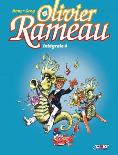 Couverture Olivier Rameau - Intégrale tome 4 (tome 10 à tome 12)