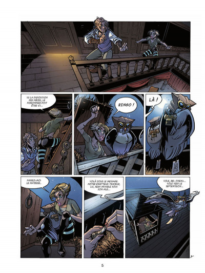 Page 8 l'autre terre tome 3 - oodgeroo