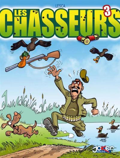 Couverture Les chasseurs tome 3