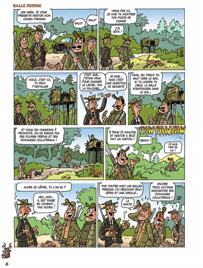 Page 9 Les chasseurs tome 3