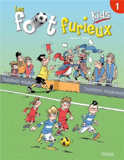 Couverture Foot Furieux Kids tome 1