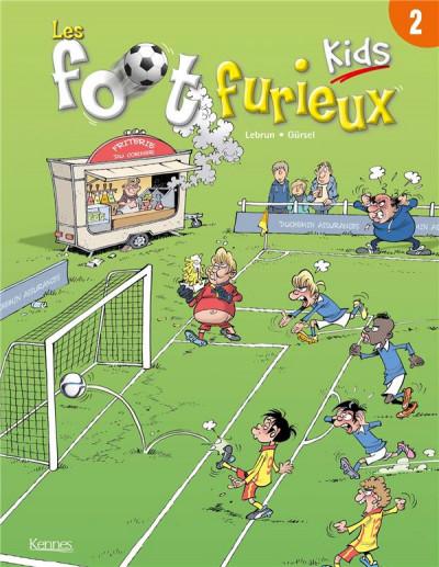 Couverture Les foot furieux kids tome 2