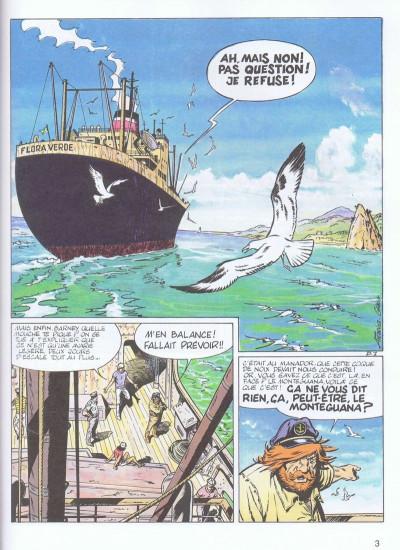 Page 1 Bernard Prince tome 16 - orage sur le cormoran