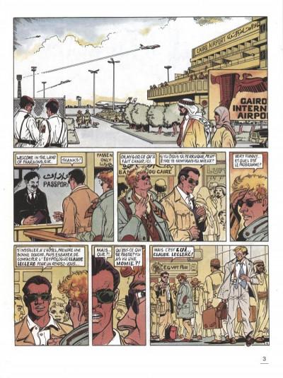 Page 1 Max London tome 3 - pharaon sur nil