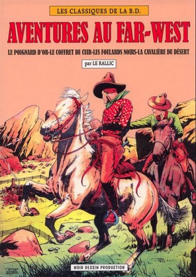 Couverture aventures au far-west