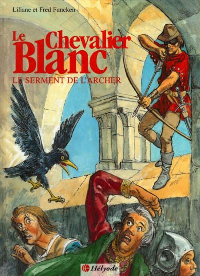 Couverture Le chevalier blanc tome 3 - serment archer