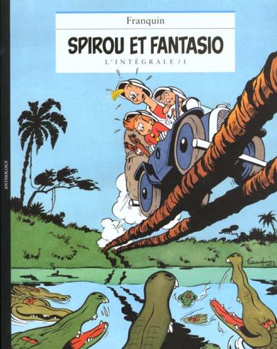 Couverture Spirou et Fantasio - intégrale niffle tome 1