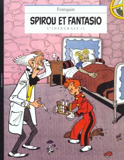 Couverture Spirou et Fantasio - intégrale niffle tome 2