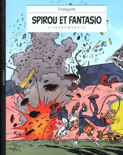 Couverture Spirou et Fantasio - intégrale niffle tome 4