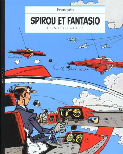 Couverture Spirou et Fantasio - intégrale Niffle tome 6