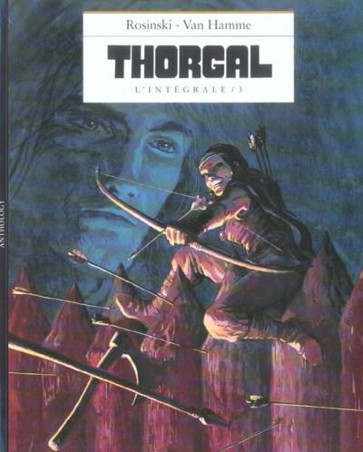 Couverture Thorgal - l'intégrale tome 3