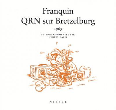 Couverture Spirou et Fantasio : Qrn sur Bretzelburg -1963