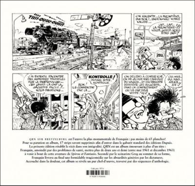 Dos Spirou et Fantasio : Qrn sur Bretzelburg -1963
