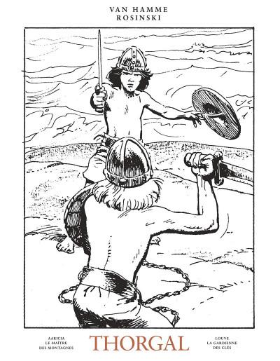 Couverture Thorgal - intégrale noir et blanc tome 3