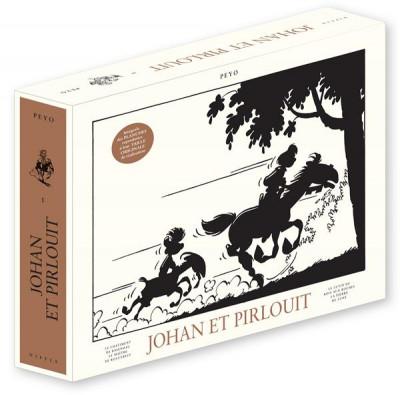 Couverture Johan et Pirlouit - intégrale Niffle tome 1