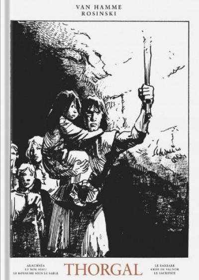 Couverture Thorgal - intégrale noir et blanc tome 5