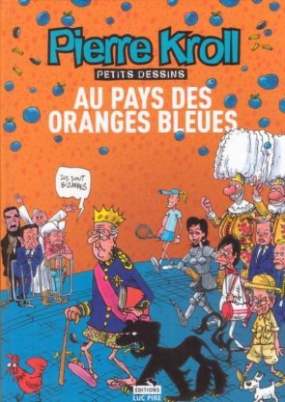 Couverture au pays des oranges bleues