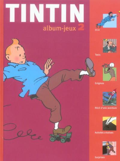 Couverture tintin, album-jeux n.2
