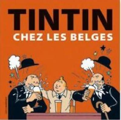 Couverture Tintin chez les Belges
